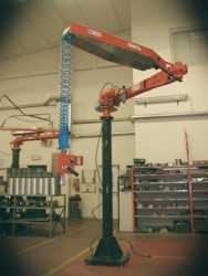 ATISacer 80 manipulator with standard hook gripping system
