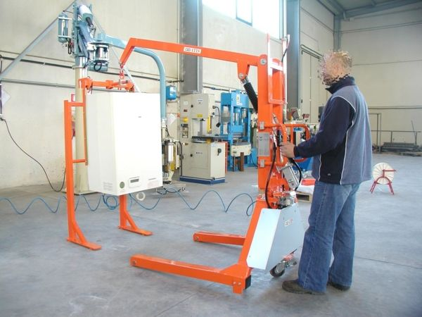 ATISlevis for boilers - Pneumatic Manipulator ATIS