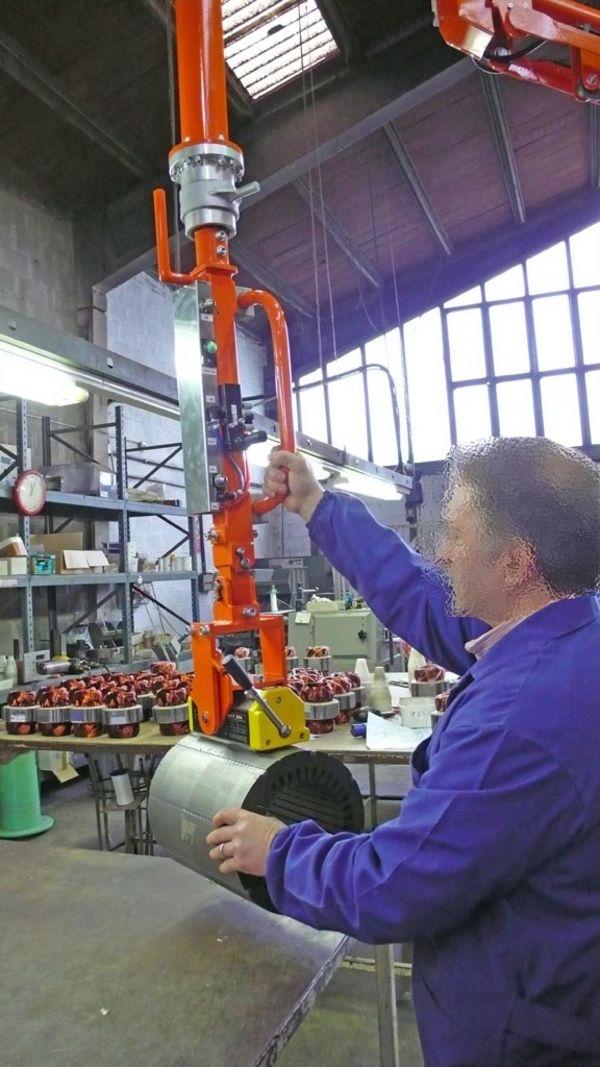 Imán rotor eje horizontal - Manipulador neumático ATIS