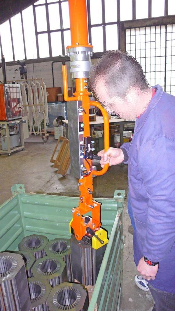 Imán rotor - Manipulador neumático ATIS