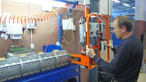 Estator eje horizontal - Manipulador neumático ATIS