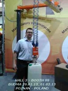 Booth ID Lifting - ATISacer at  Budma Exhibition 2013: Poznan Poland