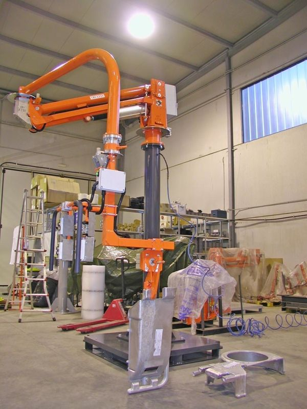 Clamp for moulds - Pneumatic Manipulator ATIS
