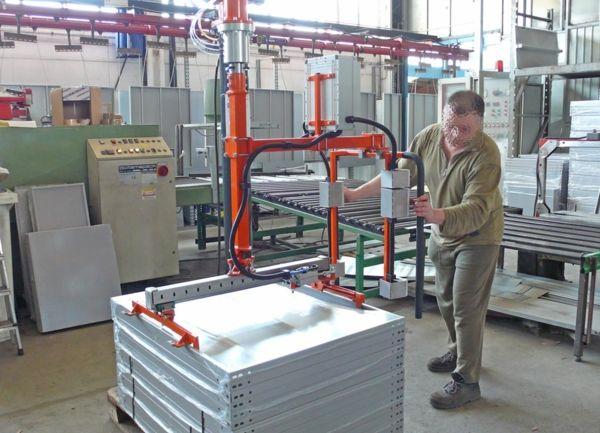 Imballaggi pacchi scaffali - Manipolatore pneumatico ATIS