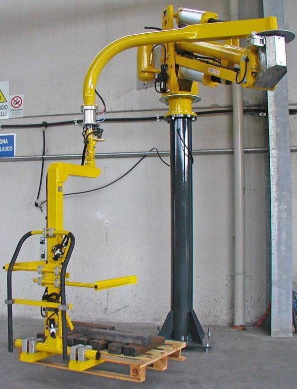 ATISmirus 300 - Fork pallet handling - Pneumatic Manipulator ATIS