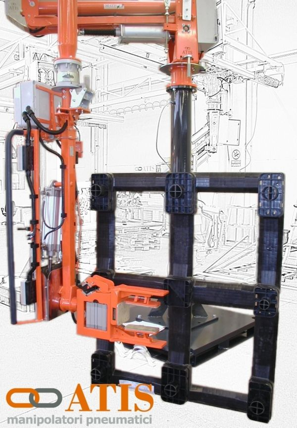 Zero G handling manipulators , balancers equipped with specific gripping solutions