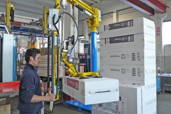 Box handling - Pneumatic Manipulator ATIS