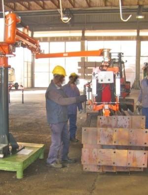 Zincado - Manipulador neumático ATIS