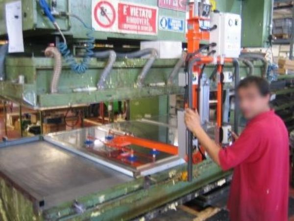 Stainless steel panels - Pneumatic Manipulator ATIS