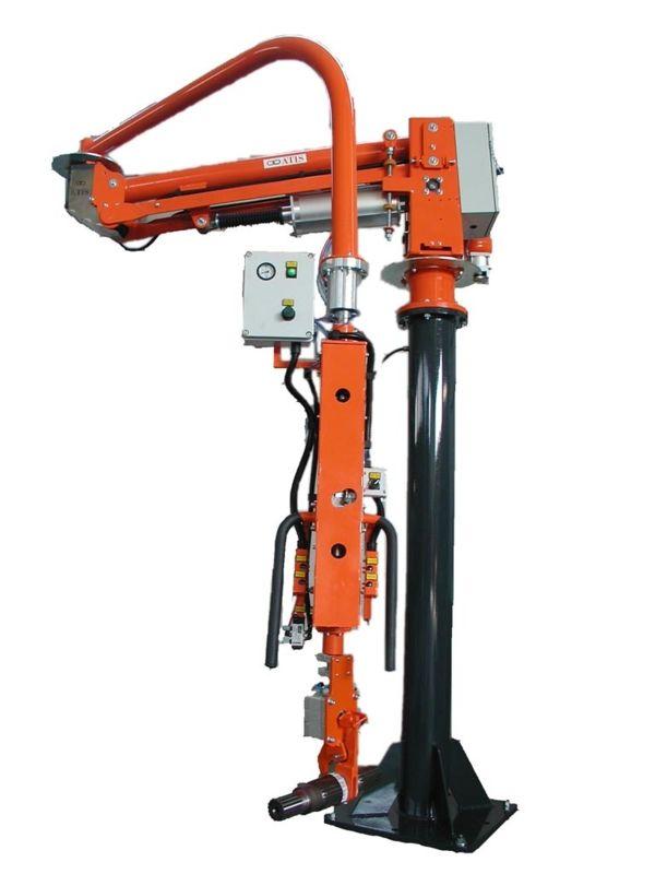 Árboles transmisión - Manipulador neumático ATIS
