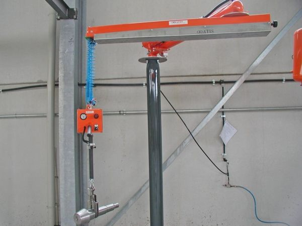 Implemento árboles - Manipulador neumático ATIS