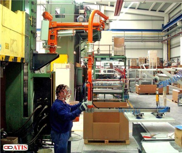 Prensas - Manipulador neumático ATIS