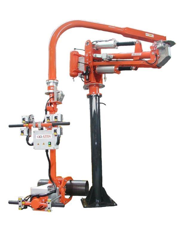 ATISmirus 200 - clamp for pipes - Pneumatic Manipulator ATIS
