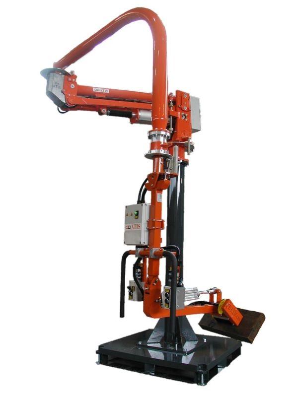 Meccanica magnete - Manipolatore pneumatico ATIS