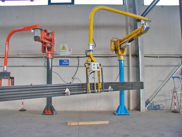ATISmirus 100 - perfiles de plástico - Manipulador neumático ATIS