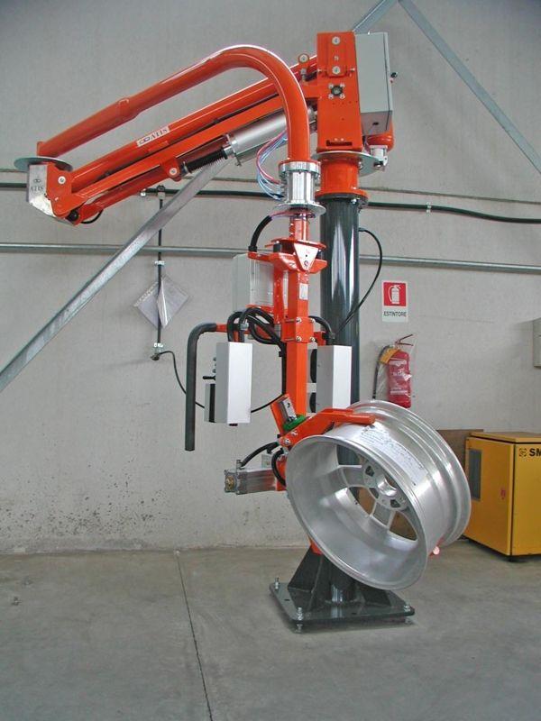 Horquilla llantas - Manipulador neumático ATIS
