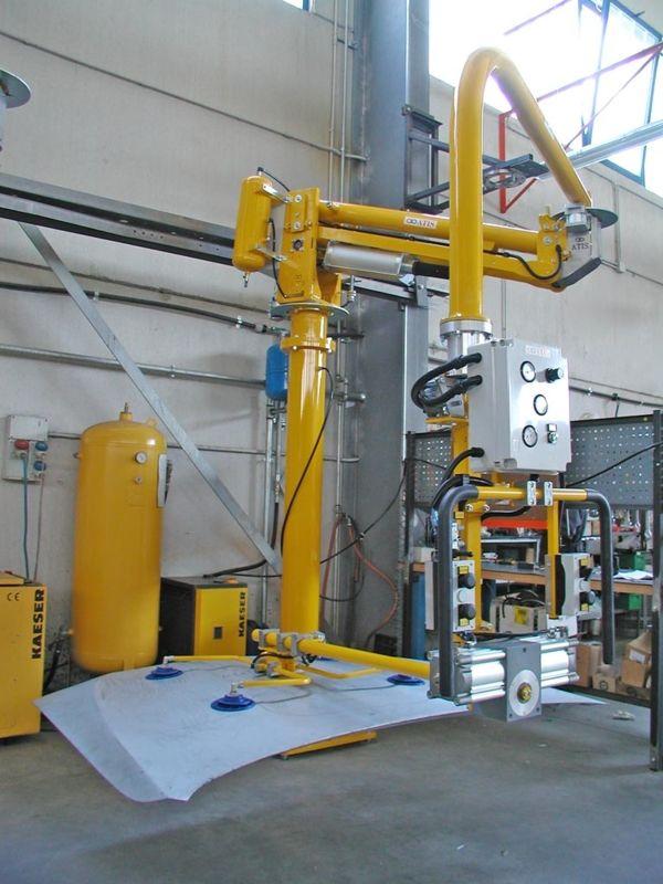 Capo - Manipulador neumático ATIS