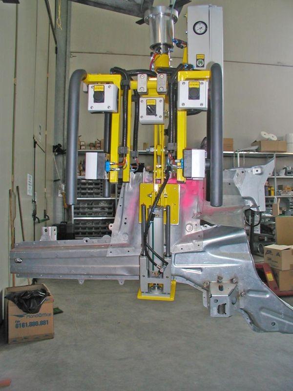 Largueros - Manipulador neumático ATIS