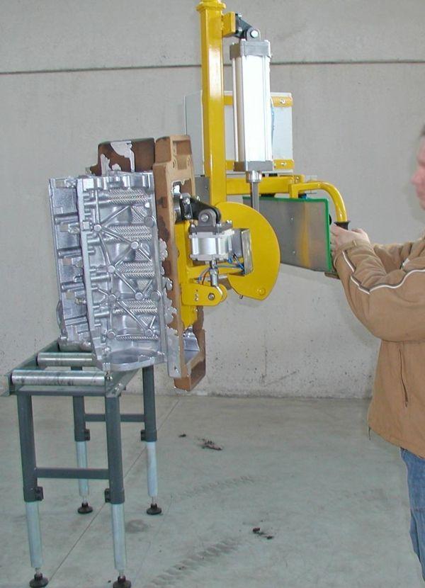 Motor casting - Pneumatic Manipulator ATIS