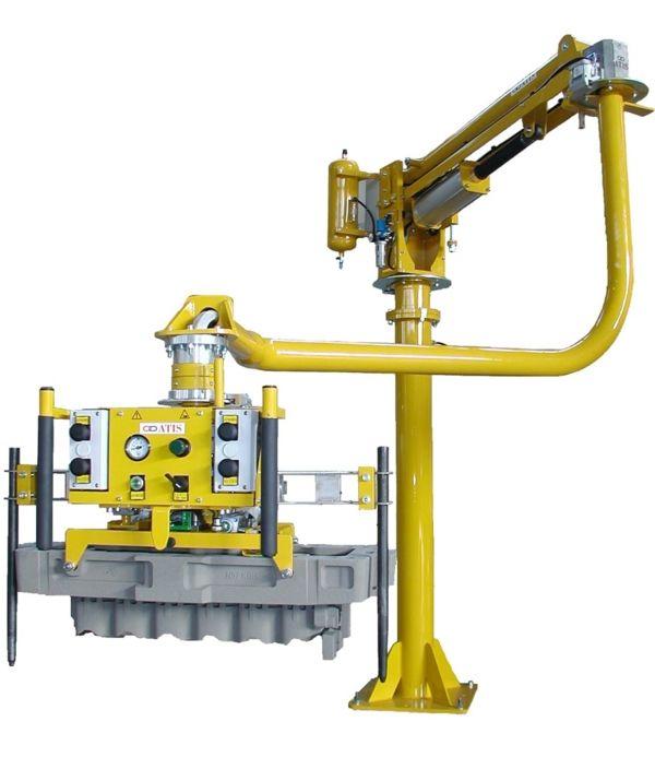 Motor moulding - Pneumatic Manipulator ATIS
