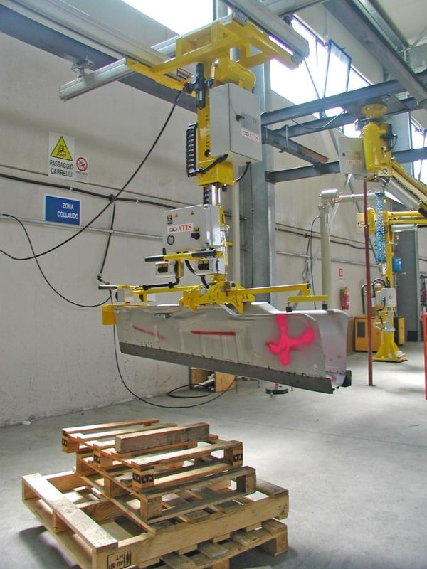 ATISlinear Floor tunnel - Pneumatic Manipulator ATIS