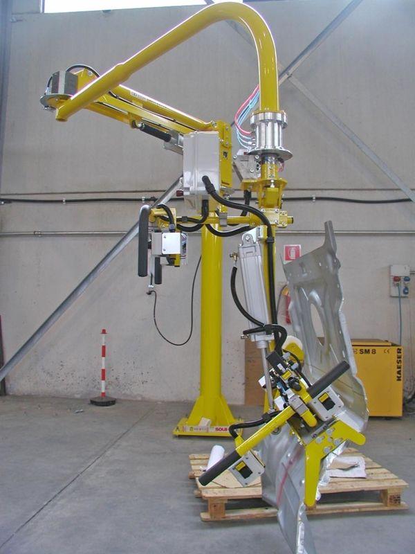 Pavimento - Manipolatore pneumatico ATIS