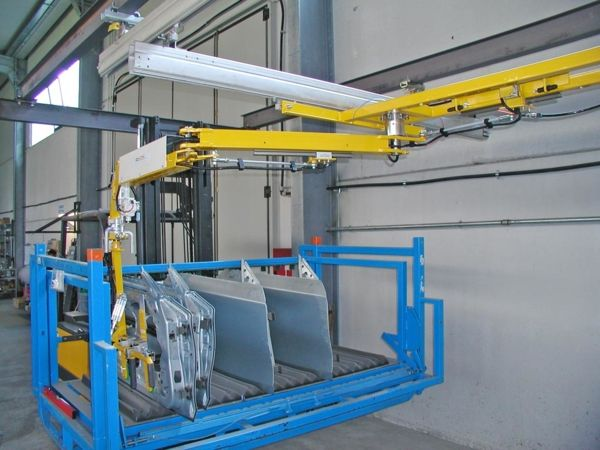 ATISlinear Doors - Pneumatic Manipulator ATIS