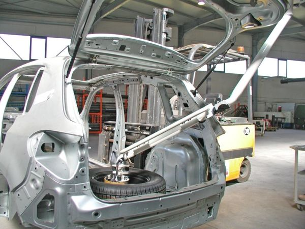 Spare wheel - Pneumatic Manipulator ATIS