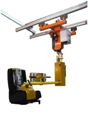 ATISlinear - asiento posterior - Manipulador neumático ATIS
