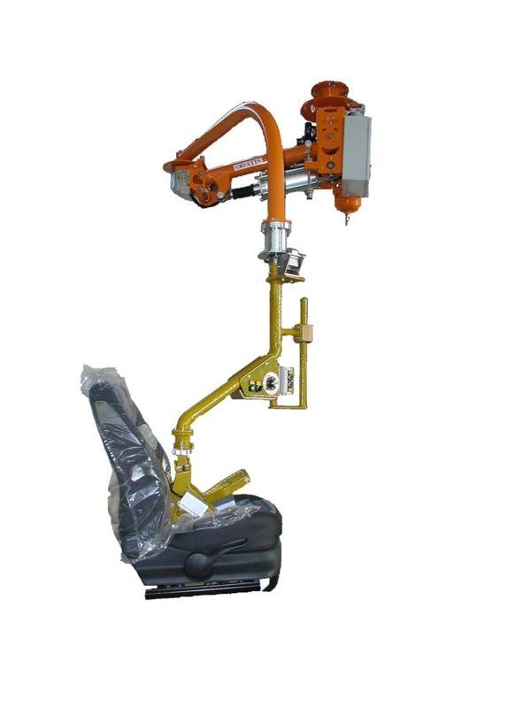 Asientos anteriores - Manipulador neumático ATIS
