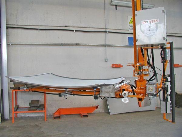 ATISlinear techos rotación 180º - Manipulador neumático ATIS
