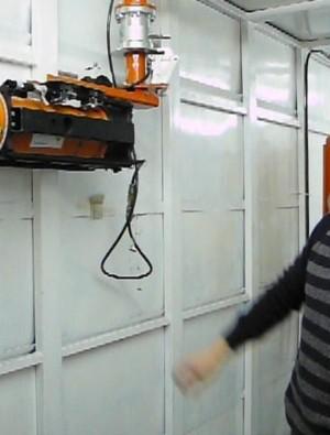 Laboratorio análisis RX - Manipulador neumático ATIS
