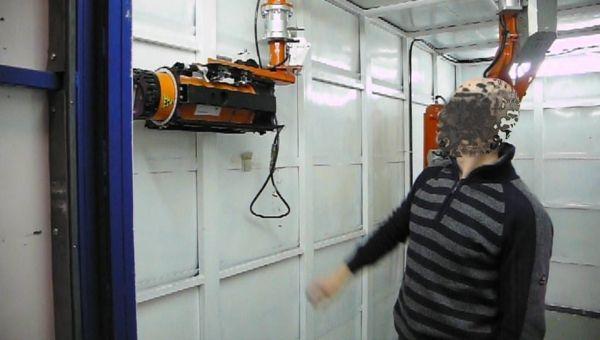 Laboratorio analisi RX - Manipolatore pneumatico ATIS