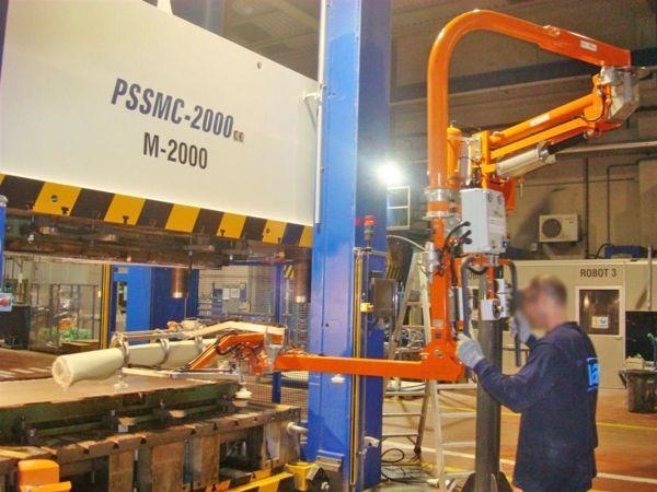 Especiales prensas - Manipulador neumático ATIS