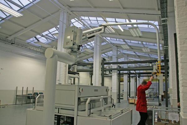 ATISmirus 100 - Fixed offset column - Pneumatic Manipulator ATIS