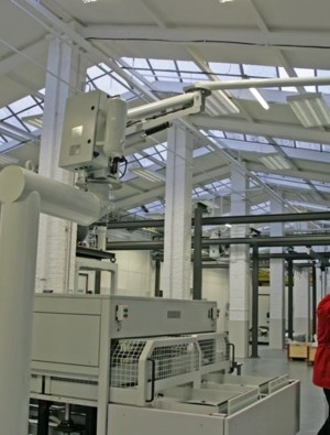 ATISmirus 100 - Fixed offset column - Pneumatic Manipulator ATIS