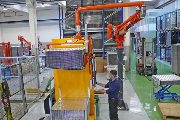 Paquetes laminados Alscambatori - Manipulador neumático ATIS