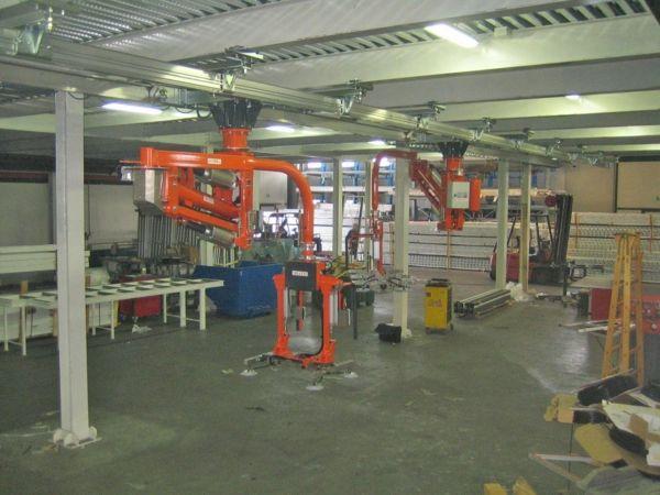Varias - Manipulador neumático ATIS