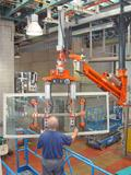 Bus windscreen assembly - Pneumatic Manipulator ATIS