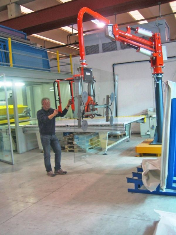 Flat sheets - Pneumatic Manipulator ATIS