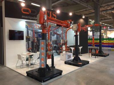 Azzeratori di peso bilanciatori manipolatori industriali ATIS a MECSPE 2017