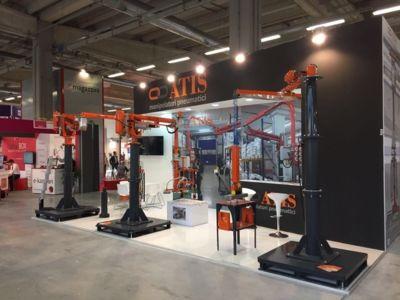 ATIS manipolatori pneumatici industriali a MECSPE 2017